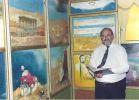 """אמנות, תרבות בירושלים נפתחה תערוכת ציורי צבי פנטון ז""""ל"""