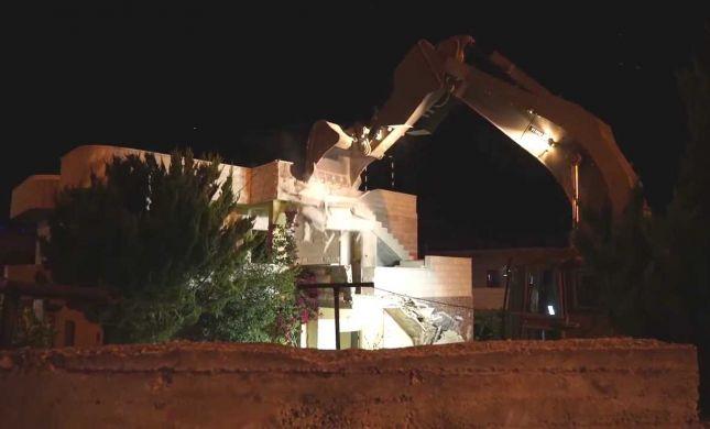 """צפו: צה""""ל הרס את בית רוצחה של דפנה מאיר"""