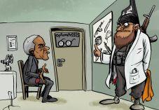 קריקטורה: היחס של אובמה לטבח באורלנדו