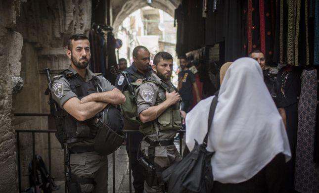 המשטרה תמנע מעבר יהודים משער שכם לכותל