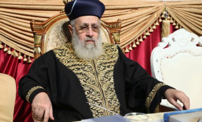 """הרב הראשי: """"מברך על סגירת הר הבית ליהודים"""""""