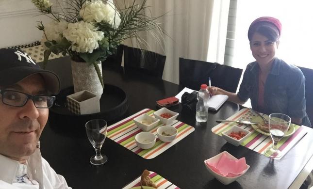 סורגים ארוחה עם סלבס • והשבוע: ישי לפידות
