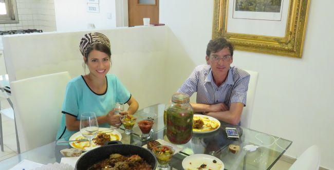 סורגים ארוחה עם סלבס • והשבוע: איציק סודרי