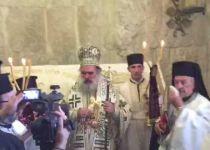 צפו: הנוצרים מחללים את קבר דוד המלך בהר ציון