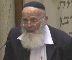 """צפו: הווארט האחרון של הרב חנוך בן פזי זצ""""ל"""
