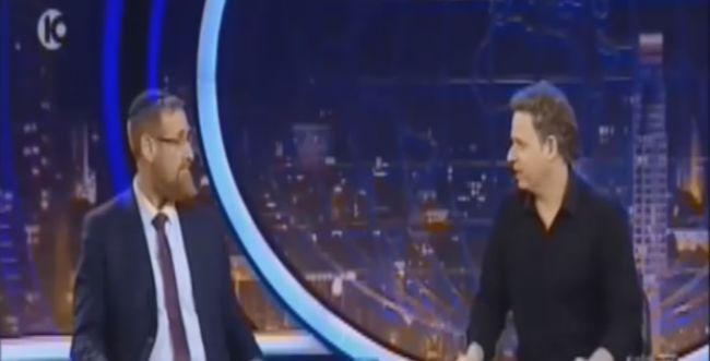 צפו: יהודה גליק לא נשאר חייב ב'גב האומה'