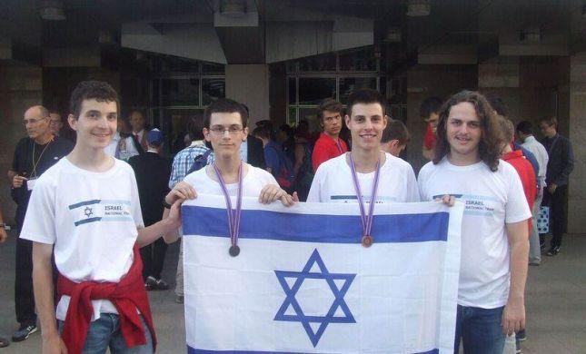 הישג לנבחרת ישראל באולימפיאדה - 14 מדליות