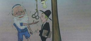 חדשות חרדים ההסתה החרדית: קריקטורה מזעזעת נגד הרב אלי בן דהן