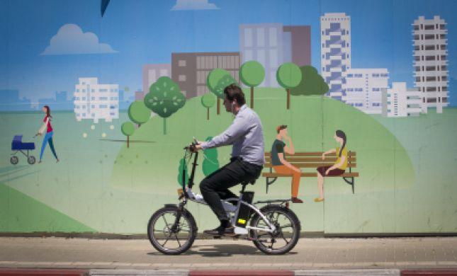 לא רק ברכב: רכב שיכור על אופניים ורשיונו נשלל