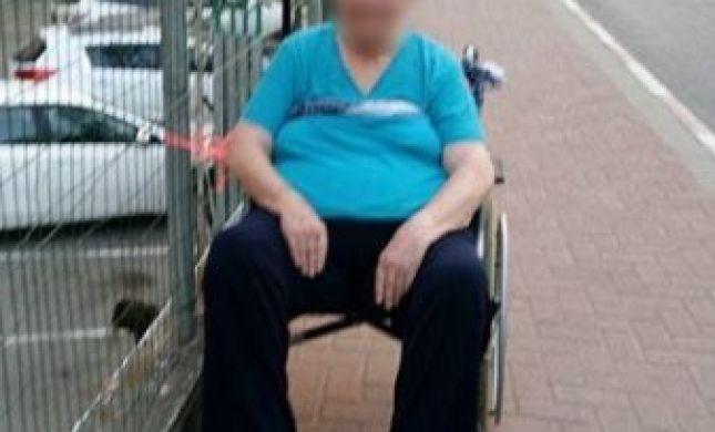 נעצרה המטפלת שקשרה קשישה והלכה לערוך קניות