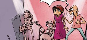 ויראלי קריקטורה: החילונים מכריחים שירת נשים