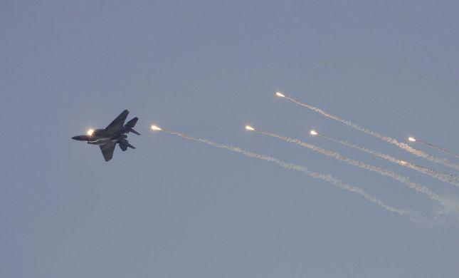 """מטוס קרב יירט מזל""""ט של החמאס ברצועת עזה"""