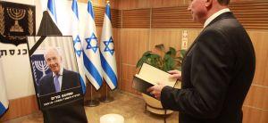 חדשות, חדשות פוליטי מדיני אבל בכנסת; אדלשטיין קרא פרק תהילים
