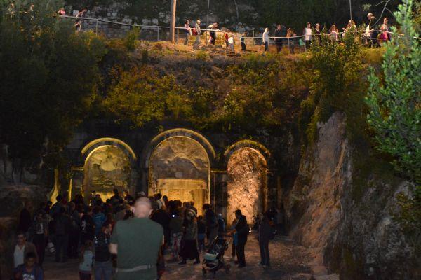 גן לאומי בית שערים: ריגושים תת-קרקעיים