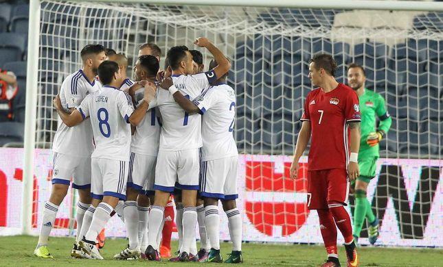 נבחרת ישראל הובכה אך הצליחה לגרד נצחון