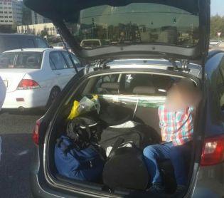 חדשות חרדים הילד החרדי הוכנס לבגאז' והקפיץ את המשטרה