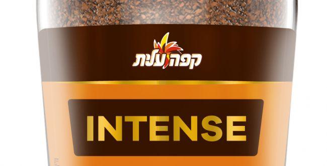 קפה עלית INTENSE מיובש בהקפאה בשילוב אספרסו – ללא צורך במכונה