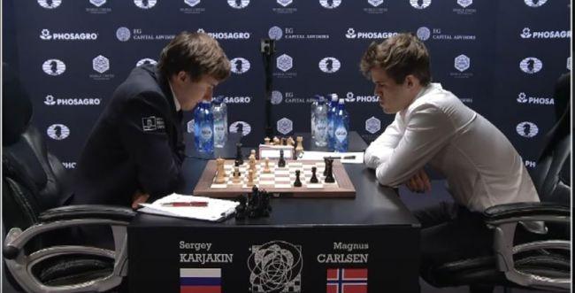 אלוף העולם בשחמט בדרך לאיבוד התואר?