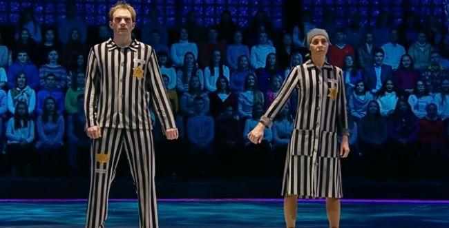 תופעה בטלוויזיה הרוסית: רוקדים ומבזים שואה