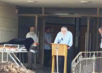 הרב דרוקמן ספד לסב נכדיו: התנהל בצורה טהורה