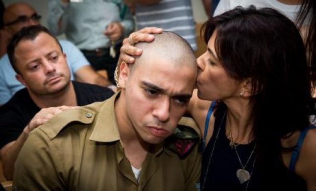 אמו של אלאור אזריה פונתה לבית החולים