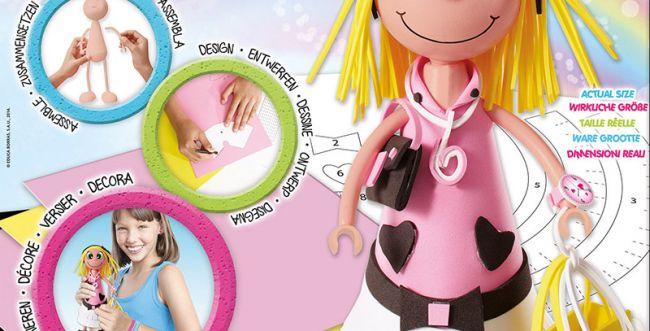 חדש לילדות: בובות אופנתיות בעיצוב ובהרכבה עצמית