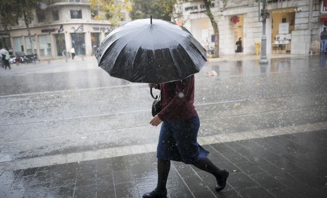 ירידה בטמפרטורות; גשם ורעמים: תחזית מזג האוויר