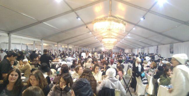 למעלה מ30,000 איש התארחו בשבת חברון