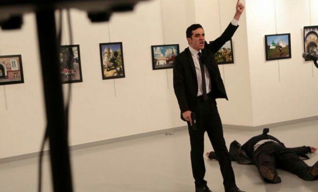 שגריר רוסיה נרצח באנקרה