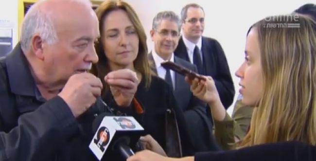 פישמן לכתבת חדשות 2: 'לכי קיבינימאט'; צפו בתקרית