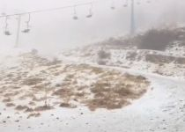 היערכות להצפות; שלג יורד בחרמון: צפו בתיעוד