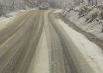 צפו: השלג החל לרדת ברמת הגולן