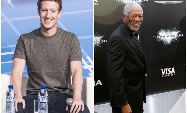 הפיתוח החדש של מייסד פייסבוק עם מורגן פרימן