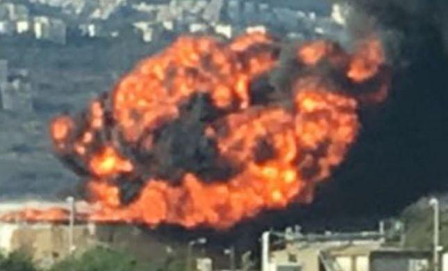 הושגה שליטה על שריפת הענק בבתי הזיקוק