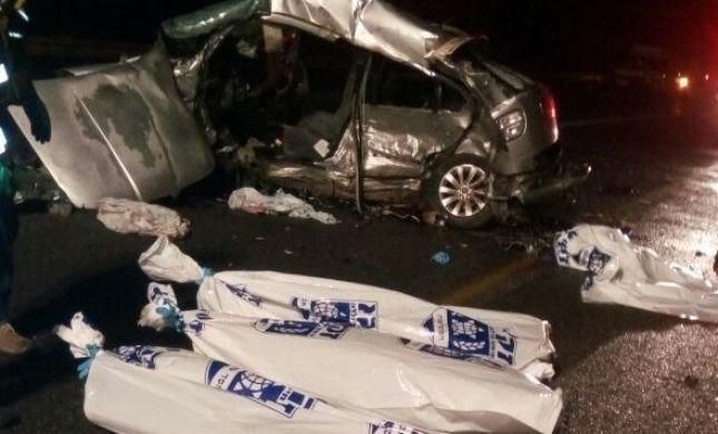 שלושה בני אדם נהרגו בתאונה חזיתית בכביש 79