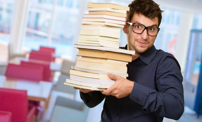 """סיפור גדול: איפה תוכלו למצוא 7 ספרים ב100 ש""""ח?"""