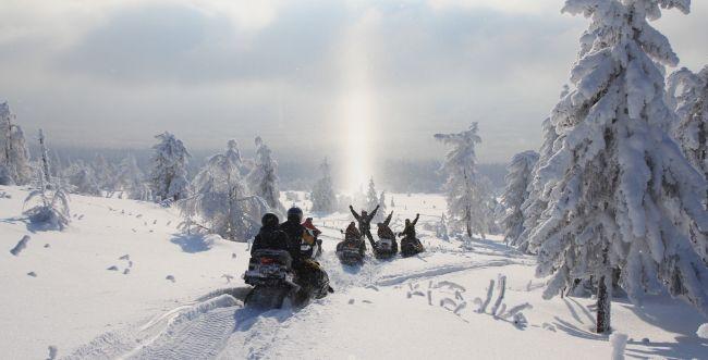 אוהבים שלג ובחרמון צפוף? תכירו את הזוהר הצפוני