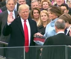 משהו חדש מתחיל: צפו בהשבעת דונלד טראמפ
