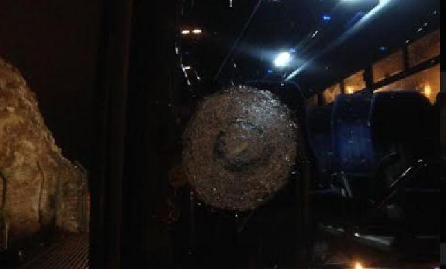 מחבלים רגמו מספר תושבי ביתר עלית באבנים; תיעוד