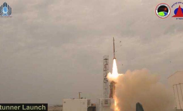 ניסוי מוצלח למערכת 'שרביט קסמים' לירוט טילים