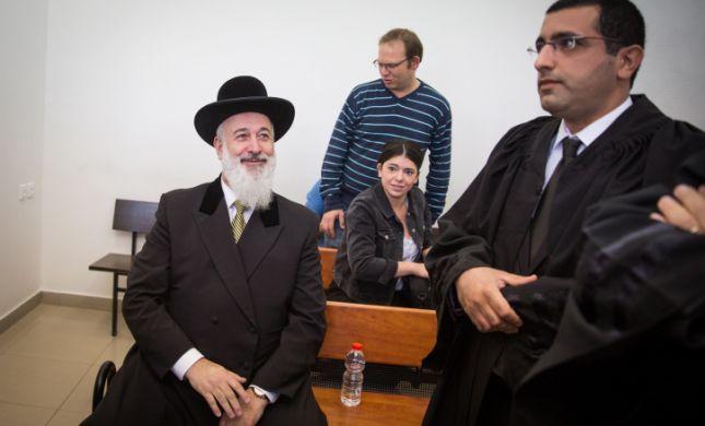 הרב מצגר הודה: קיבלתי שוחד
