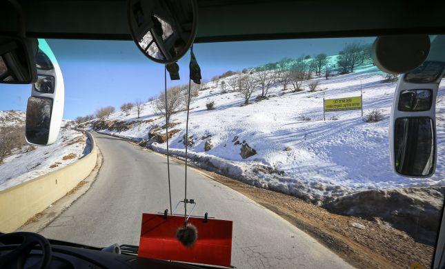 אסון בחרמון: הולך רגל נדרס על ידי אוטובוס