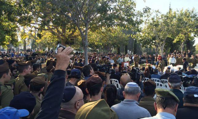 מאות נענו לקריאה והגיעו ללוות את סלבה שנפל בגולן
