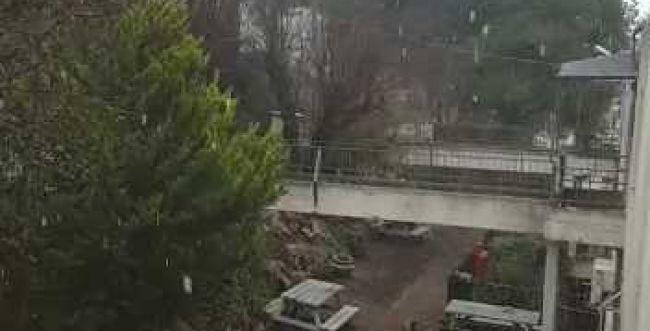שלג ראשון החל לרדת בגליל העליון. צפו