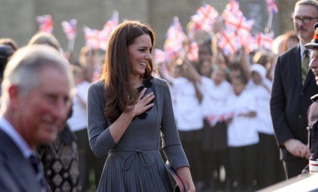 הודעה מלכותית: בקרוב נראה יותר לוקים של קייט מידלטון