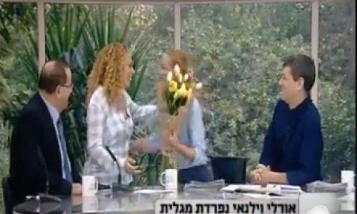 חדשות טלוויזה וקולנוע, טלוויזיה וקולנוע המגישה עזבה את ערוץ 2, המתחרה הביאה לה פרחים