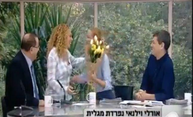 המגישה עזבה את ערוץ 2, המתחרה הביאה לה פרחים