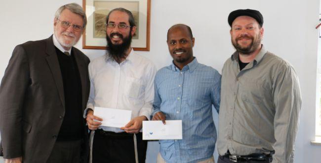 """נדיר: שני סטודנטים מאותו מוסד זכו בפרס מהמל""""ג"""