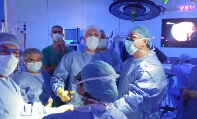 לראשונה בארץ, ניתוח ייחודי לתיקון מום בעובר עוד ברחם