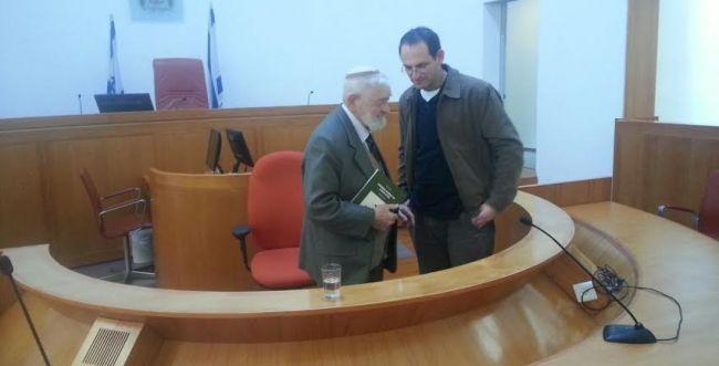 הסטודנטים הסרוגים פגשו את השופט האחראי על חוק גיוס בני הישיבות